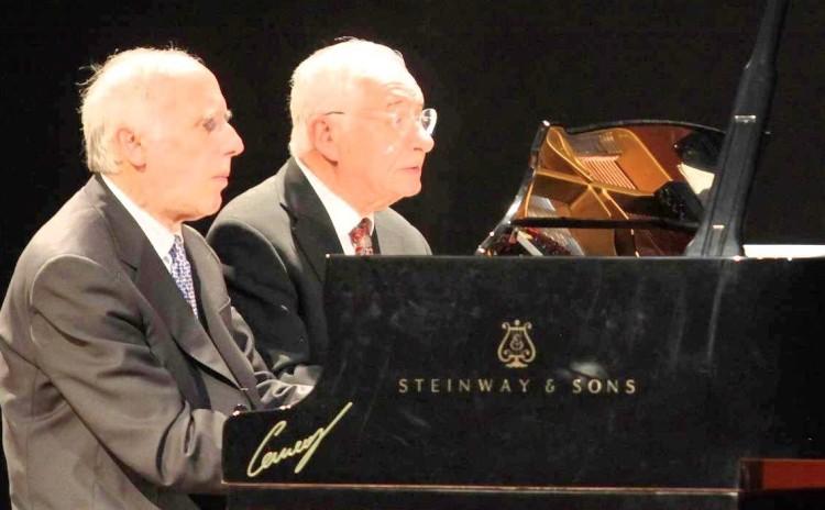 Bruno Canino e Antonio Ballista