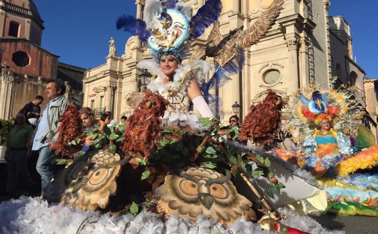 Carnival in Acireale - Sicily