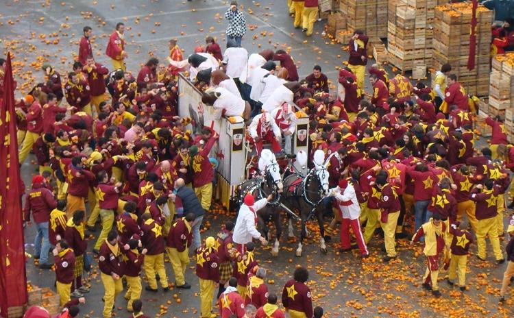 Carnevale storico di Ivrea