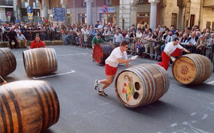 Corsa delle botti - Nizza Monferrato