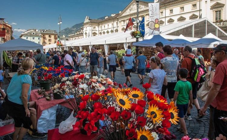 Foire d'été - Aosta Italy