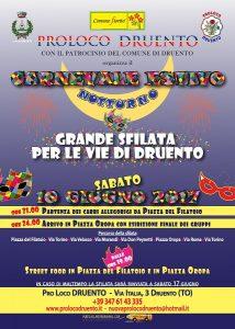 Carnevale Estivo Notturno di Druento - Piemonte