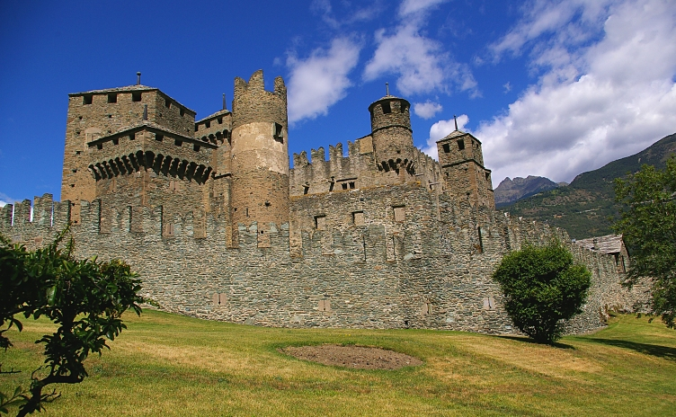 Fenis Castle - Valle d'Aosta Italy