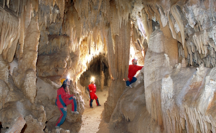 SpeleoNight at Castellana Caves Puglia Italy
