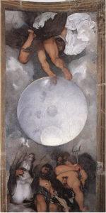 Caravaggio - Giove, Nettuno e Plutone