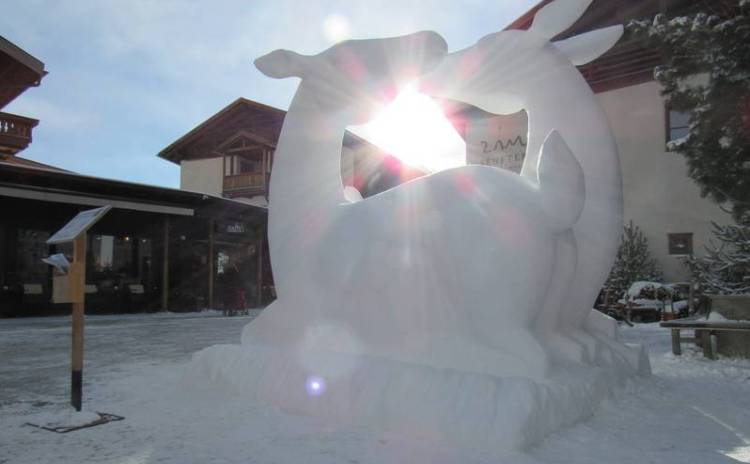 Festival internazionale delle sculture di neve