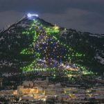 the largest Christmas tree in the world Italy