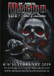 Milano Tattoo convention 2019