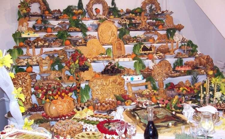 Saint Joseph feast, Sicily
