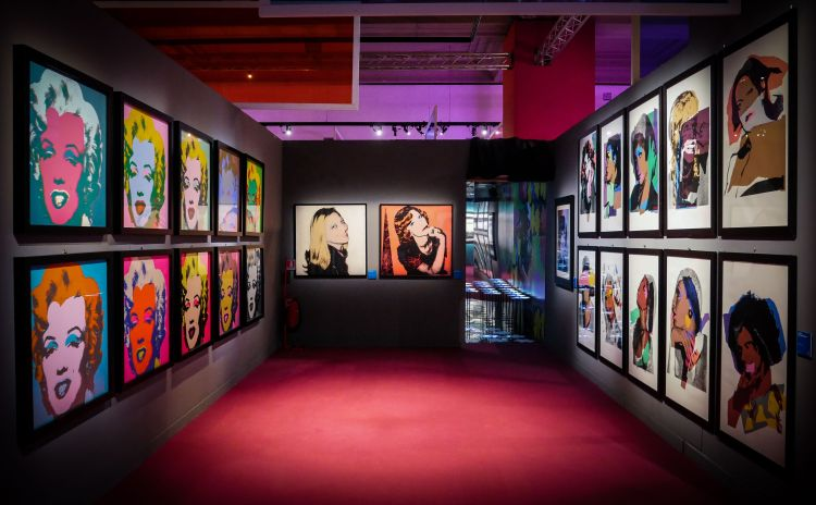 exhibit Andy Warhol Rome Italy