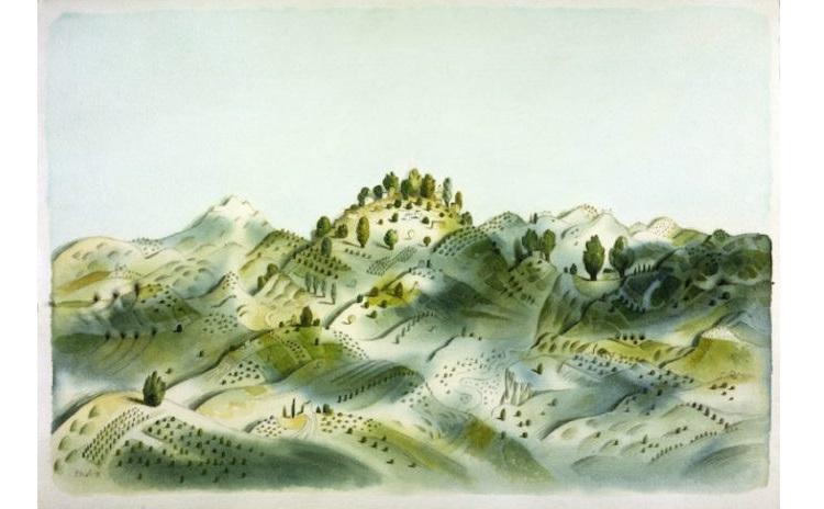 Tullio Pericoli Forme del Paesaggio mostra Ascoli Piceno