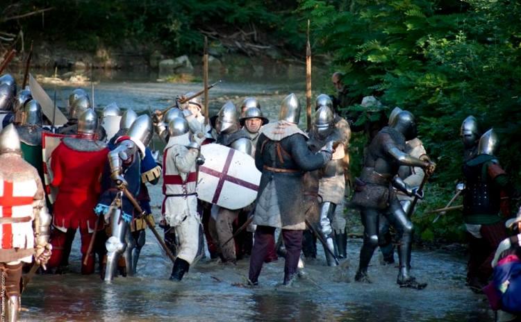 AD 1387 Battle - Terra del Sole Emilia Romagna Italy