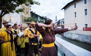 Palio dela Brenta al Borgo Trentino Alto Adige