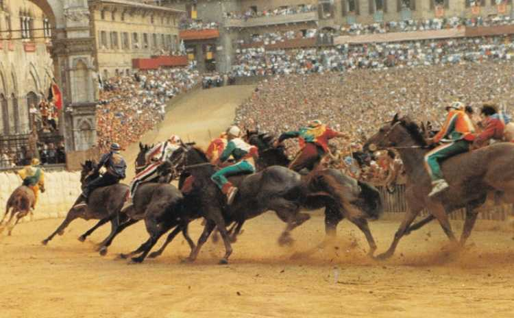 The famous Palio di Siena, every year on August 16th CANCELLED