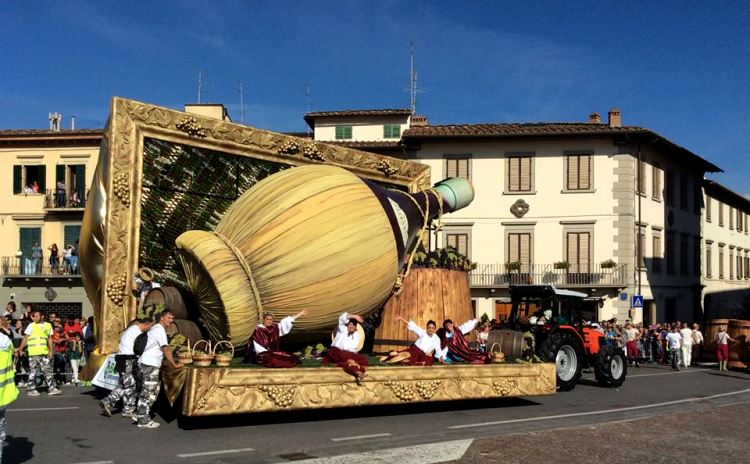Grapes Feast - Impruneta Tuscany