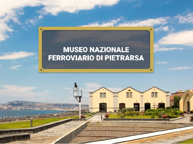 National Railway Museum of Pietrarsa - Campania - Italy
