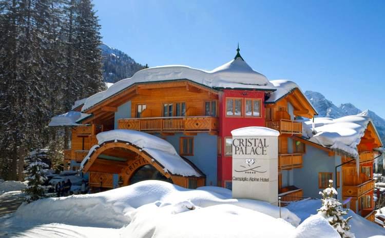 Hotel Cristal Palace - Madonna di Campiglio - Trentino Alto Adige Italy
