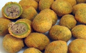 stuffed olives Abruzzo