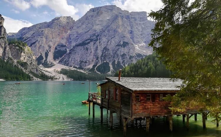 Braies Lake - Trentino Alto Adige - Italy