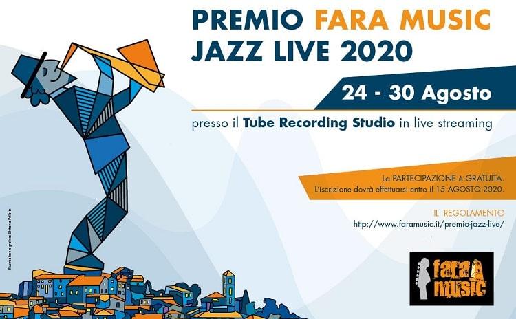 Premio Fara Music Live Jazz 2020 - Lazio