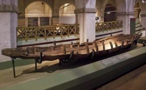 The Ancient Ships in Pisa - Tuscany - Italy