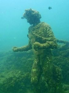 Submerged park of Baia - Campania - Italy