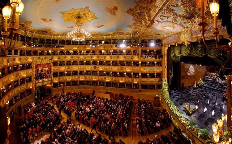 La Fenice Theater - Veneto - Italy