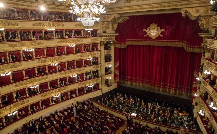 La Scala Theatre - Lombardy - Italy