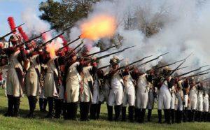 Historical Re-enactment. Palma to Arms 1809 The Siege - Friuli Venezia Giulia - Italy