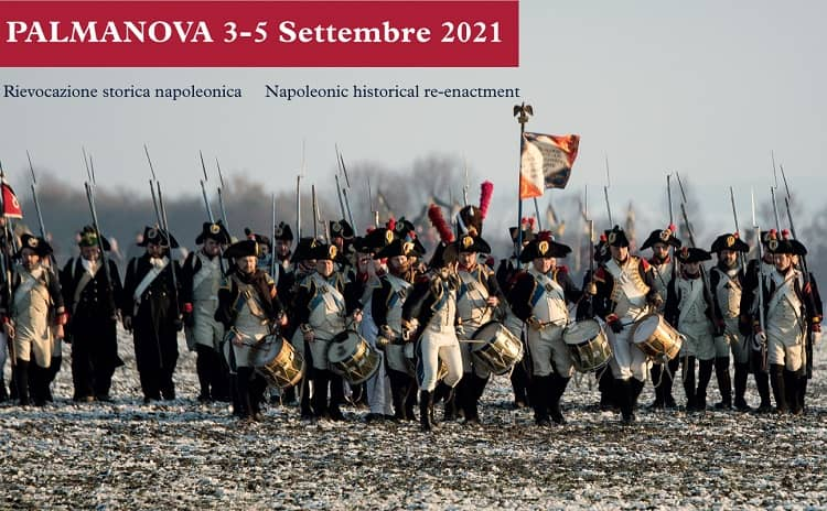 Historical Re-enactment. Palma to Arms 1809 The Siege - Friuli Venezia Giulia - Italy