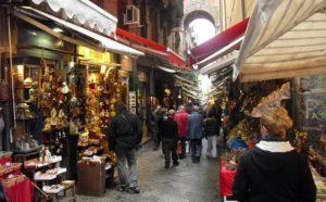 Via dei Presepi di Napoli - Campania
