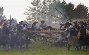 Historical re-enactment A.D. 1615 Palma to Arms - Friuli Venezia Giulia - Italy