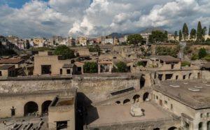 Archaeological Park of Herculaneum - Campania - Italy