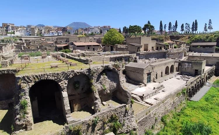 Parco archeologico di Ercolano - Campania