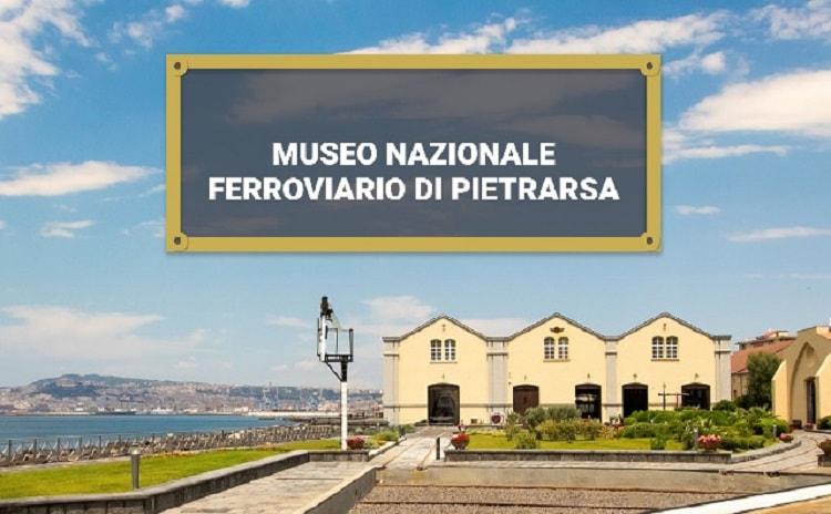Museo Nazionale Ferroviario di Pietrarsa - Napoli Campania