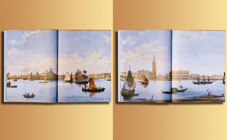 Panoramic Venice exhibition Fondazione Querini Stampalia - Veneto - Italy