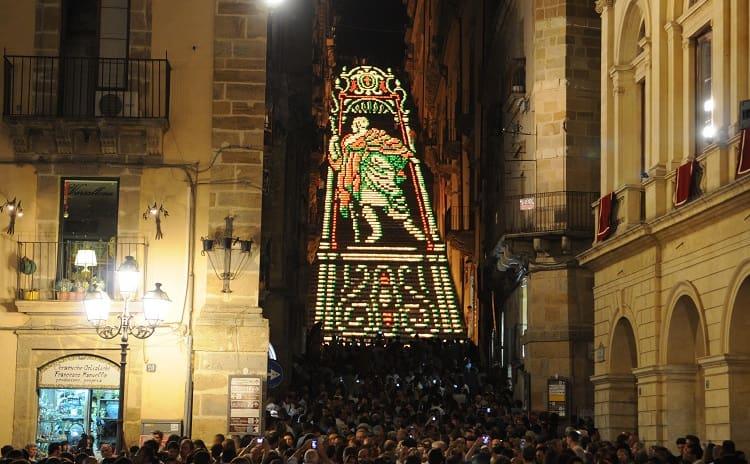 La Scala Illuminata - Sicilia