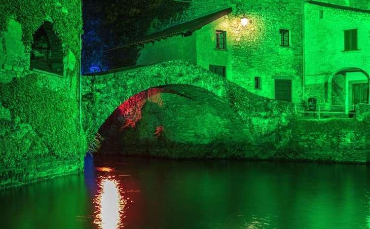 Lake Como Summer Lights Ponte della Civera Nesso - Maurizio Moro