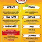 Sagra Romagna e Abruzzo - menu