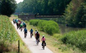 Percorso ciclopedonale del Burana - Emilia Romagna